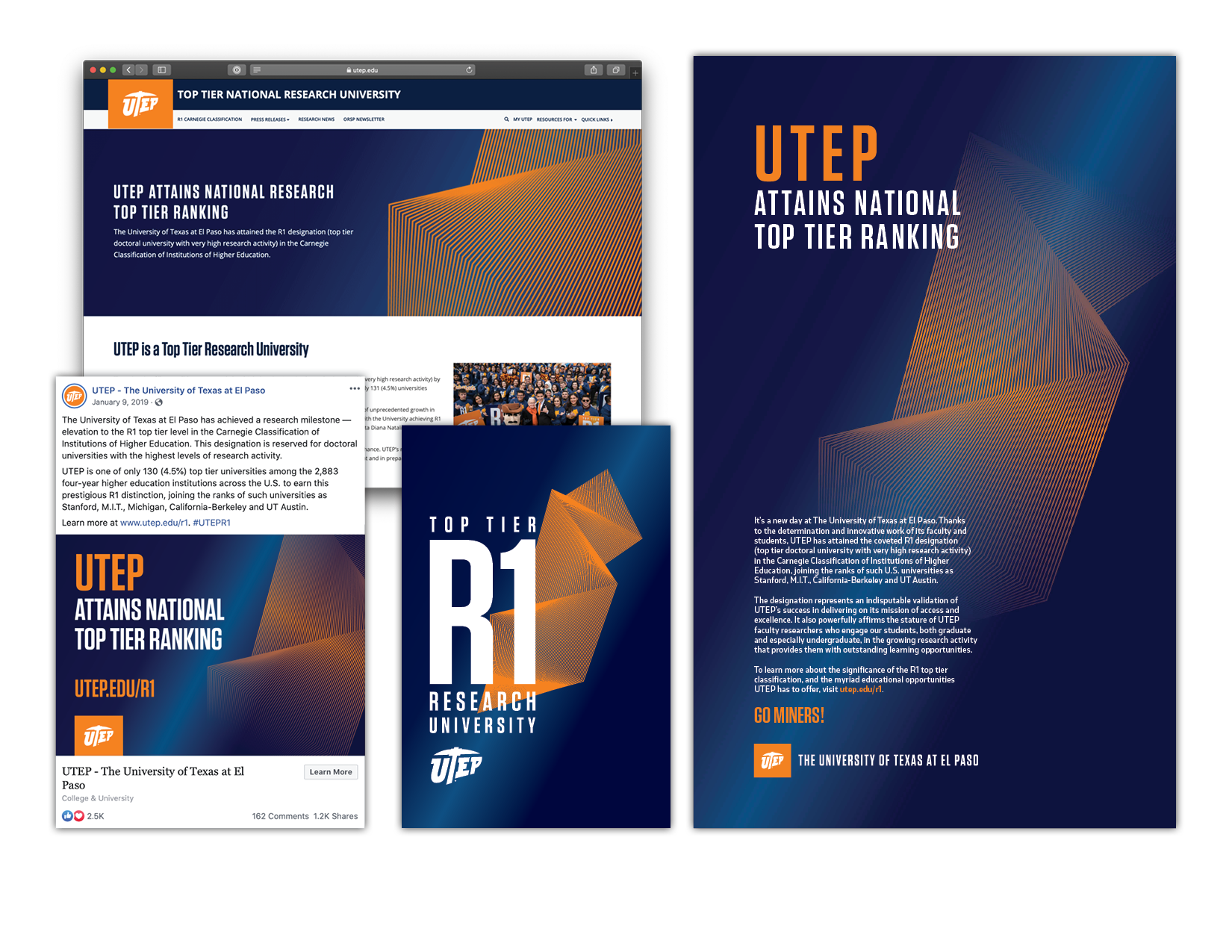 R1 TOP TIER RESEARCH UNIVERSITY CAMPAIGN, 2019